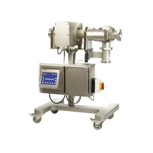 Detector de metale pentru produse lichide- vascoase