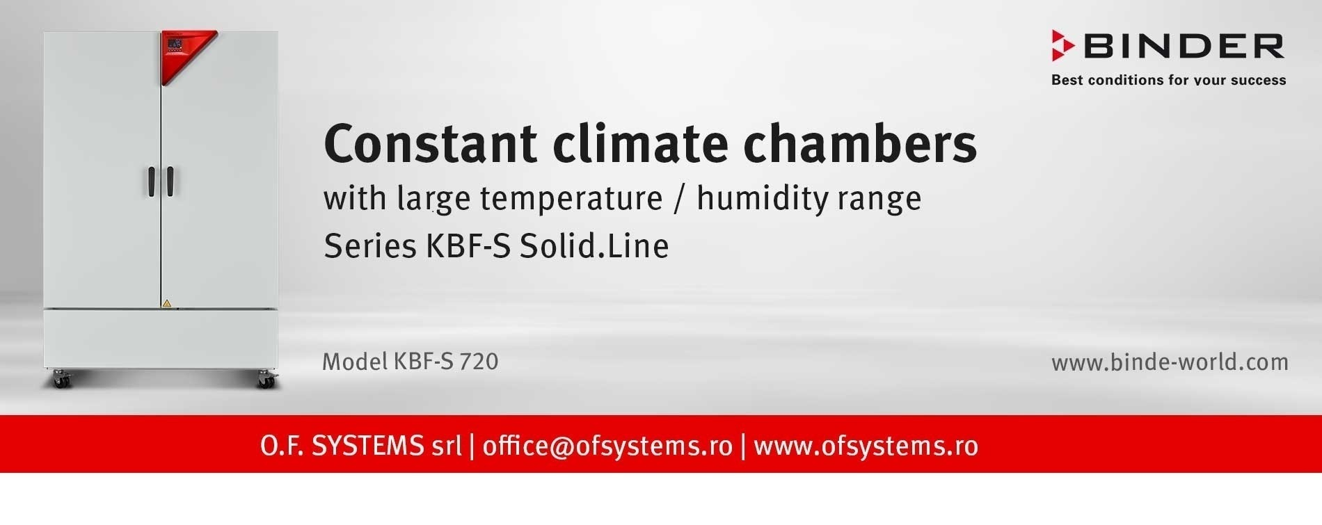 camere climatice kbf-s