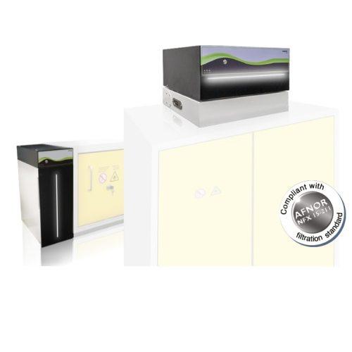 "Sistem de Filtrare ""ChemTrap"" pentru Cabinete Stocare Chimicale"